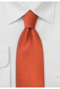Limoges Krawatte terracotta
