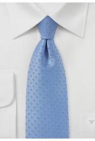 Krawatte Pünktchen hellblau