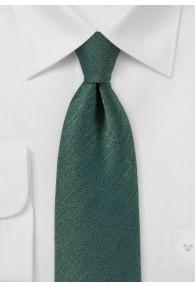 Krawatte gesprenkelt dunkelgrün