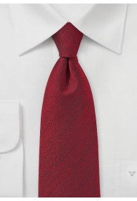 Krawatte meliert rot