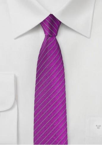 Kravatte Kreidestreifen-Design pink