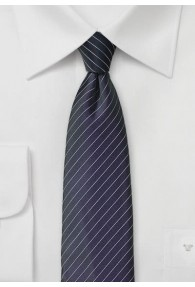 Krawatte  Nadelstreifen  brombeer