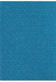Krawatte extra schmal geformt cyanblau