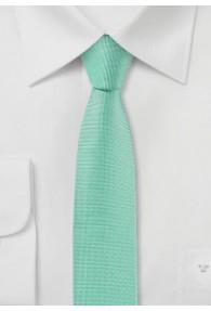 Krawatte extra schlank aqua