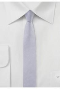 Krawatte extra schlank flieder