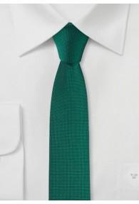 Krawatte extra schmal blaugrün
