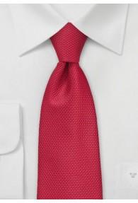 Lange Krawatte rot Struktur