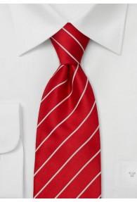 Elegance Krawatte in Feuerrot