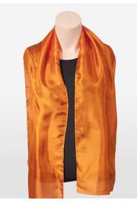 Chorschal Seiden-Chiffon orange