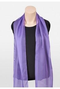 Damenschal Chiffon violett