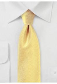Krawatte Herring-Bone goldgelb