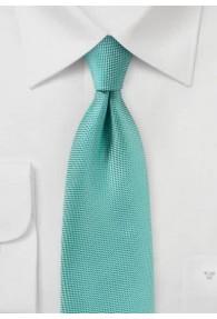 Krawatte zart texturiert mintgrün
