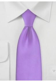 Mikrofaser-Krawatte unifarben purpur