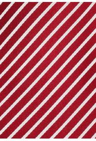 Dignity XXL-Krawatte Rot/Weiß