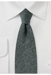 Krawatte Wolle oliv