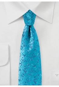 Krawatte abstraktes Dessin bläulich-türkis...