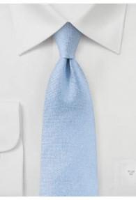 Krawatte Struktur hellblau