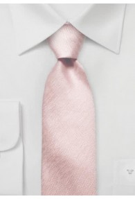 Krawatte Fischgrät gesprenkelt rose