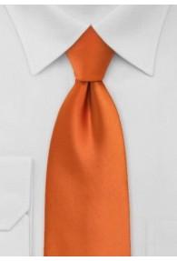 Krawatte Gummizug kupfer