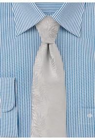 Krawatte Farn-Oberfläche silber