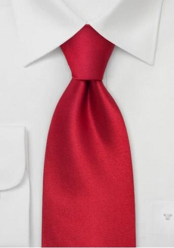 Edle Krawatte in Feuerrot