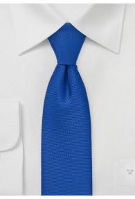 Schmale Krawatte strukturiert in royal
