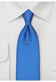 Krawatte Punkt-Pattern stahlblau