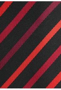 XXL-Krawatte Streifen rot