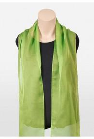 Damenschal Chiffon grün