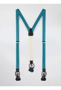 Hosenträger blaugrün