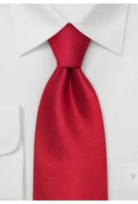 XXL-Krawatte kräftiges rot