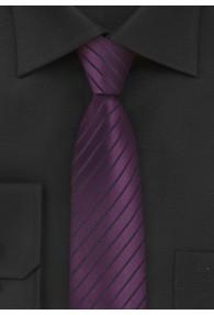 Violette Schmale Krawatte