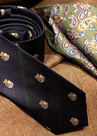 Krawatte mmit Einstecktuch